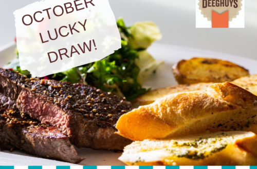 Deeghuys Lucky Draw Competition October